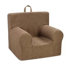 Weston Grab-n-go Kid's Foam Chair with handle - Jitterbut Pecan (no welt)