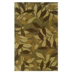 Trio Collection Green & Brown 1.10 X 2.10