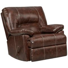 Exceptional Designs by Flash Cheyenne Cafe Leather Rocker Recliner