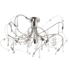 5LT Crystal Semi Flush Fixture