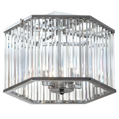 4LT Crystal Semi Flush
