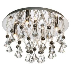 5LT Crystal Flush-Mount Fixture