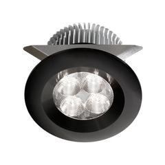 24V DC,8W Black LED Cabinet Light