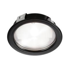 24V DC,4W Black LED COB Puck Light