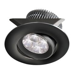 24V DC,8W Blk Adjust Mini LED Pot Light