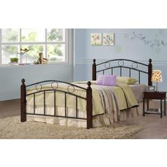 Coaster Kyan Twin Wood and Metal Bed 42.5x79.5x35 Inch