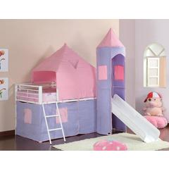 Coaster Princess Castle Tent Bed 79.75x101x93.25 Inch
