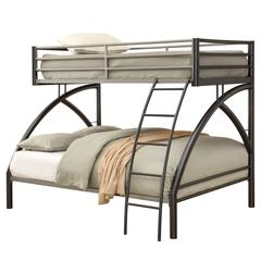 Coaster Twin-over-Full Metal Bunk Bed 80x56.25x61.25 Inch