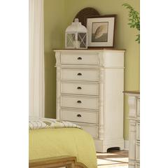 Coaster Oleta Country Six-Drawer Chest 38x18.75x55.25 Inch
