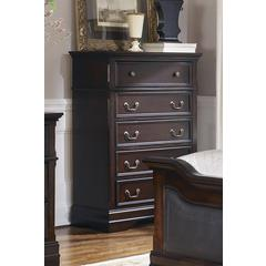 Coaster Cambridge Five-Drawer Chest 35.5x17.75x49.5 Inch