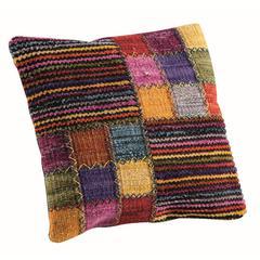 """Cushions Khema4  Brown Multi - 24""""x24"""""""