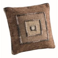 """Cushions Ermanno Beige Grey - 16""""x16"""""""