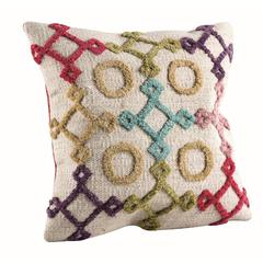 "Cushions Nicia Bright Multi - 16""x16"""