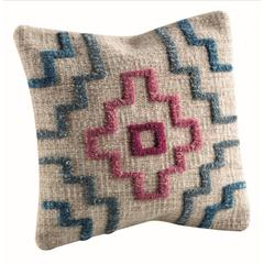 "Cushions Tiberio Turquoise - 16""x16"""