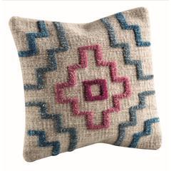 "Cushions Tiberio Turquoise - 24""x24"""