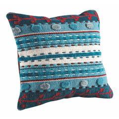 "Cushions Abramo Turquoise - 18""x18"""