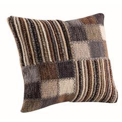 "Cushions Khema4  Light Grey - 18""x18"""