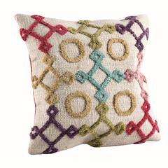 "Cushions Nicia Bright Multi - 18""x18"""