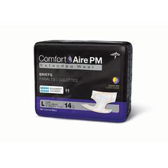 ComfortAire PM Extended Wear Briefs,Large, 56/CS