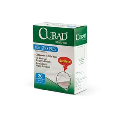 CURAD Sterile Non-Stick Pads, 12/CS