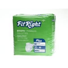 FitRight Plus Briefs,Medium, 20/BG