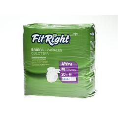 FitRight Ultra Briefs,Medium, 80/CS