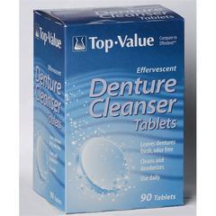 Denture Cleansing Tablets, 90/BX