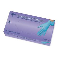 Accutouch Chemo Nitrile Exam Gloves,Blue,Large, 100/BX
