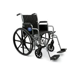 Excel K1 Basic Extra-Wide Wheelchairs, 1/EA