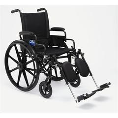 K4 Extra-Wide Lightweight Wheelchairs, 1/EA