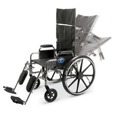 Excel Reclining Wheelchairs, 1/EA