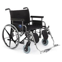 Excel Shuttle Extra-Wide Wheelchairs, 1/EA