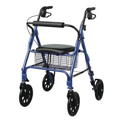 "Rollators with 8"" Wheels,Blue, 1/CS"