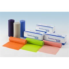 Exercise Bands,Lime Green, 1/EA