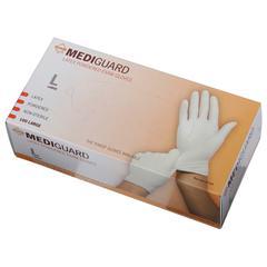 MediGuard Non-Sterile Powdered Latex Exam Gloves,Beige,X-Large, 900/CS