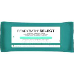 ReadyBath SELECT Total Body Cleansing Medium Weight Washcloths, 30/CS