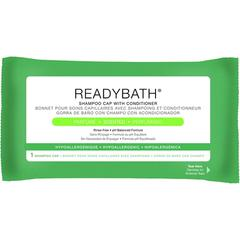 ReadyBath Rinse-Free Shampoo and Conditioning Caps, 1/EA