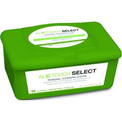Aloetouch SELECT Premium Spunlace Personal Cleansing Wipes, 6/CS