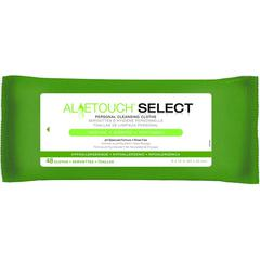 Aloetouch SELECT Premium Spunlace Personal Cleansing Wipes, 48/PK