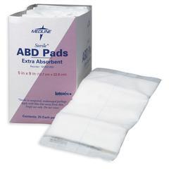 Sterile Abdominal Pads, 25/BX