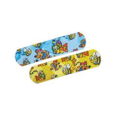 CURAD Medtoons Adhesive Bandages,Cartoon, 50/BX