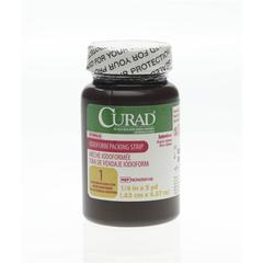 CURAD Sterile Iodoform Packing Strips, 1/EA