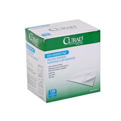 CURAD Sterile Non-Adherent Pad, 100/BX
