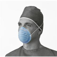 Surgical Cone-Style Face Mask,Blue, 300/CS
