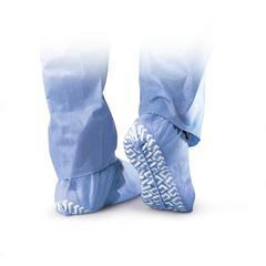 Non-Skid Pro Series Spunbond Shoe Covers,Blue,X-Large, 200/CS
