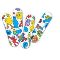 CURAD Sesame Street Adhesive Bandages,Cartoon, 1/BX