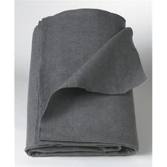 Polyester/Cellulose Emergency Blankets,Gray,Not Applicable, 10/CS