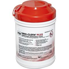 SANI-CLOTH Plus Germicidal Disposable Cloths, 1/BX