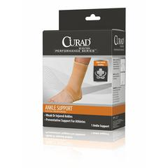 Open Heel Ankle Supports,Beige,Medium, 4/CS
