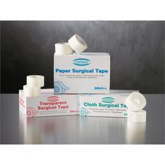 Caring Cloth Silk Adhesive Tape,White, 6/BX